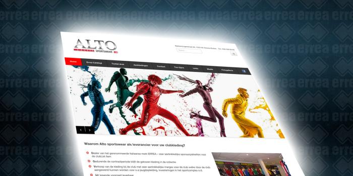 Nieuwe site ALTO Sportswear